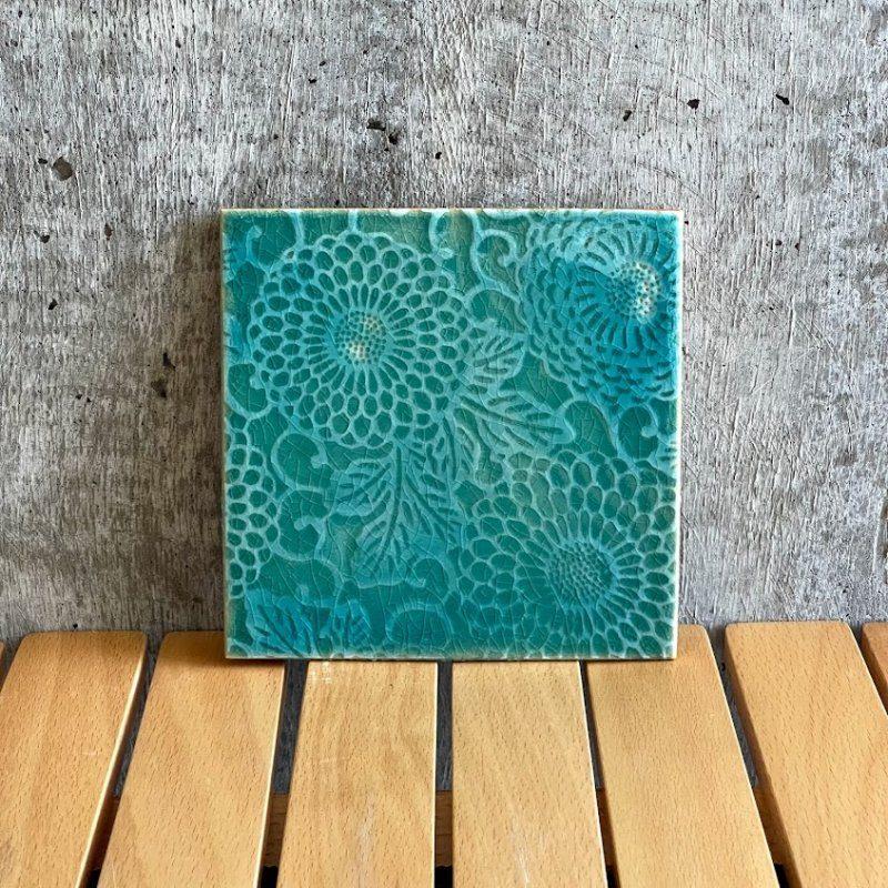沖縄の手作り表札・独自技法の紅型陶器の表札です。世界に一つの表札をご自宅にいかがですか?